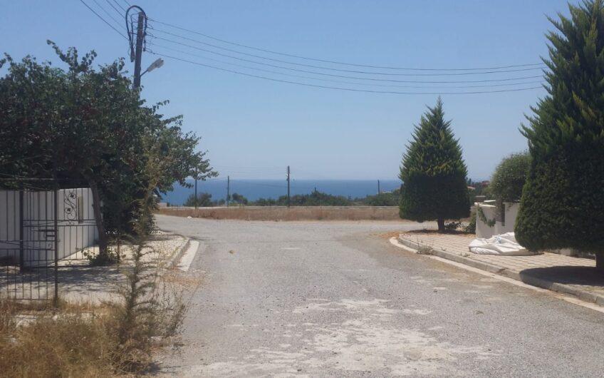 Satılık Deniz Manzaralı Arsa